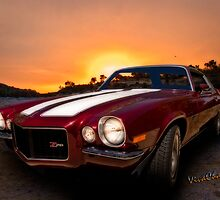 71 Z28 Camaro Tribute the Muscle Car I'd choose for a midnight cruise by ChasSinklier