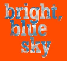 Bright, blue sky Kids Clothes