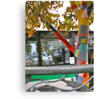 26/4 the knitted tree again Canvas Print