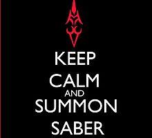 Summon Saber by RebeccaMcGoran