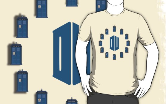 Dr. Who - Tardis & Logo by Bastien13