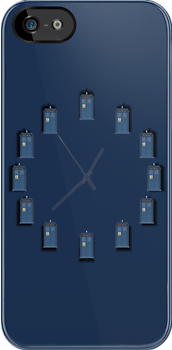 Dr. Who - Tardis - Clock by Bastien13