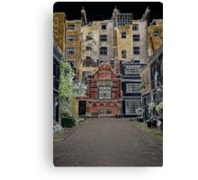 London mews Canvas Print