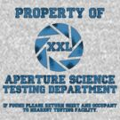 Property of Aperture Science Testing Dept. by TohruRokuno