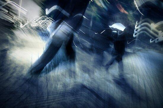 rush hour melodrama by Dorit Fuhg
