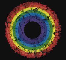 Distressed Rainbow by Matt West
