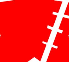 Crimin red Sticker