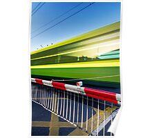 Fast train Poster