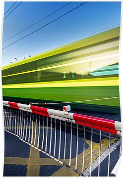 Fast train by Alessio Michelini