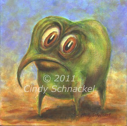 Green Thing by Cindy Schnackel