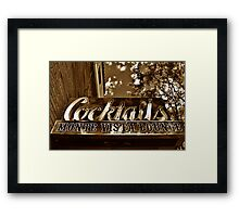Hotel Monte Vista, Flagstaff, Arizona Framed Print