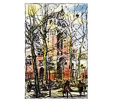 Montmartre 14 in colour Photographic Print