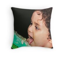 ♫ It's My Birthday and I'll  Lick if I Want To ♫ Throw Pillow
