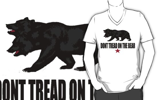 Don't Tread on the Bear by GhostGravity
