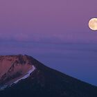 Moonrise - Mount Scott by Harry Snowden