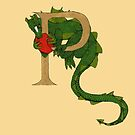 "Oscar and the Roses ""P"" (Illustrated Alphabet) by Donnahuntriss"