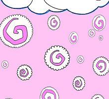 Raining maki! (pink) by kimduran