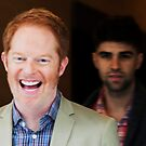 Jesse Tyler Ferguson and Justin Mikita by michaelroman