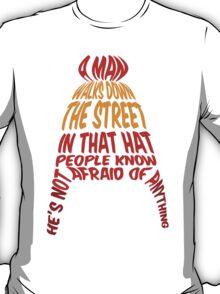 A man walks down the street... T-Shirt