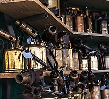 Antique Blow Torches by Deborah McGrath