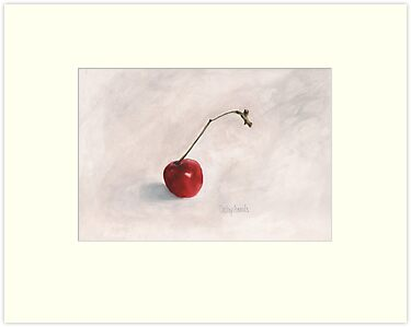 Cherry II Print by cathy savels