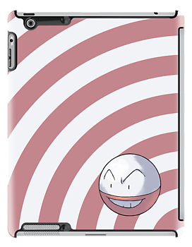 Pokemon - Electrode Circles iPad Case by Aaron Campbell
