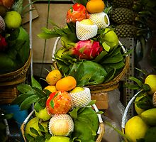 Fruit and Veg Display by mlphoto