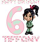 Vanellope Von Schweetz Custom Birthday by sweetsisters