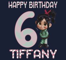 Vanellope Von Schweetz Custom Birthday PERSONALIZE IT! ~BUBBLEMAIL ME FOR YOUR LISTING~  by sweetsisters