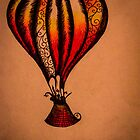 Fiddle Balloon by Emma Luker