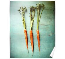 Three Carrots Poster