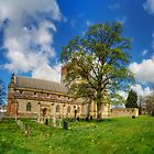 Cathedral in Spring by Ian Mitchell