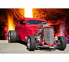1934 Ford Bad Boy Coupe Photographic Print