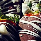 Chocolate Covered Strawberries by Ashley Dailey