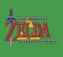 The Legend of Zelda A Link To The Past - Pixel. by LukeSimms