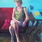 selfportrait 200x150cm by Natasa Ristic