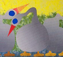 Bilingual Geese by Louise Schiele