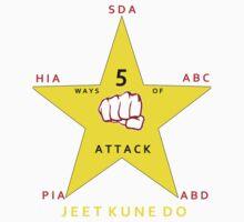 JKD 5 ways of Attack JKD Kids Clothes