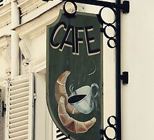 Cafe by Caroline Fournier