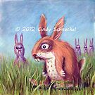 Return of the Killer Pink Bunny Rabbits by Cindy Schnackel