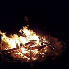 Night Campfire by Rob Goforth