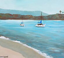 Balboa Island Plein Air by signaturelaurel