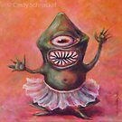 Monster in a Tutu by Cindy Schnackel