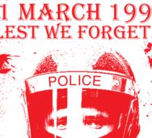 Battle of Trafalgar 1990 Sticker