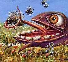Fly Catcher by Cindy Schnackel