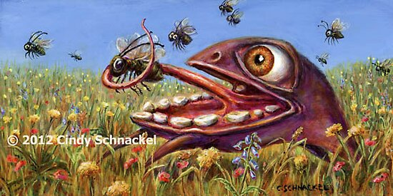 Fly Catcher by Cindy Schnackel