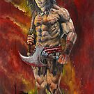Conan the Barbarian by Wayne Dowsent