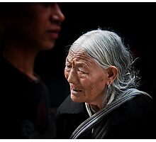 Old Enough to Remember a Free Tibet Photographic Print