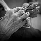 Hands of a Loved One by Karen Willshaw