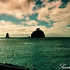Blue Beach La Push by Sarah Ella Jonason